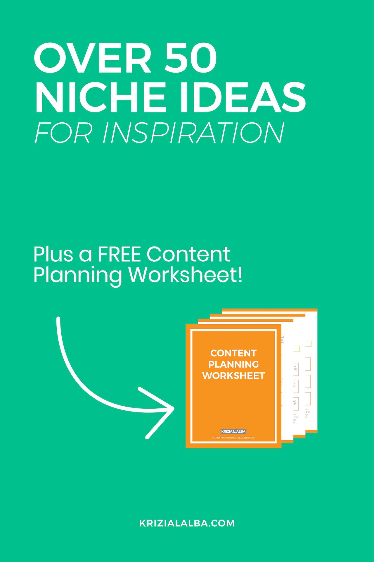 Niche Ideas for Inspiration